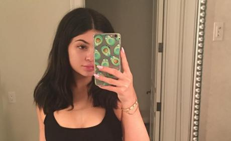 Kylie Jenner, Makeup Free Photo