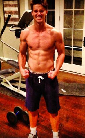 Patrick Schwarzenegger Shirtless Photo