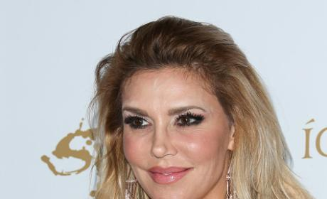 Brandi Glanville on a Red Carpet