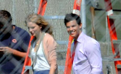 Taylor Lautner and Taylor Swift