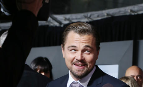 Leonardo DiCaprio is Banging a Blonde Model Named Ela Kawalec