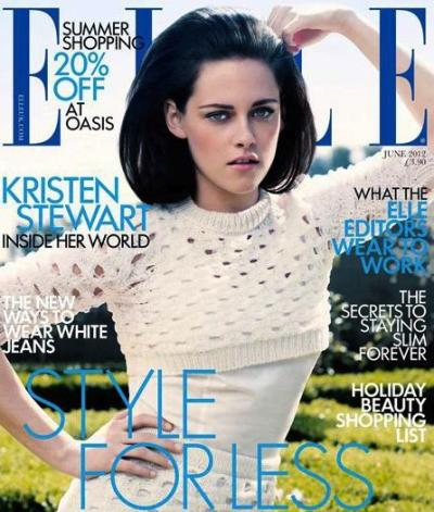 Kristen Stewart Elle UK Cover