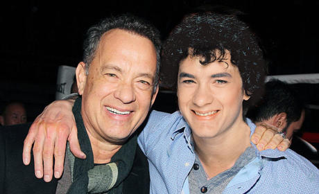 Tom Hanks in 2014 and 1980