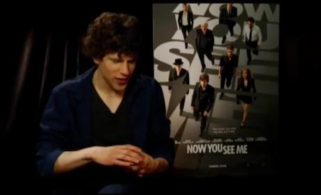 Jesse Eisenberg Movie Interview: Is He Being a Jerk?