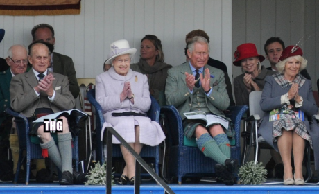 Prince Phillip Makes Like Prince Harry, Flashes Junk