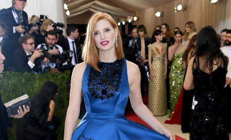 Jessica Chastain: 2016 Costume Institute Gala