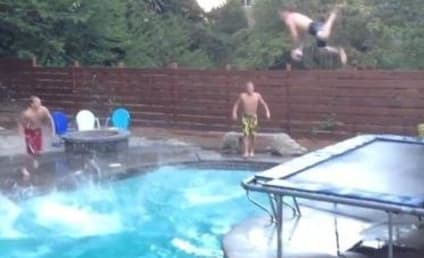 Swimming Pool Trick Shot Dunk: Even More Insane Than the Original!