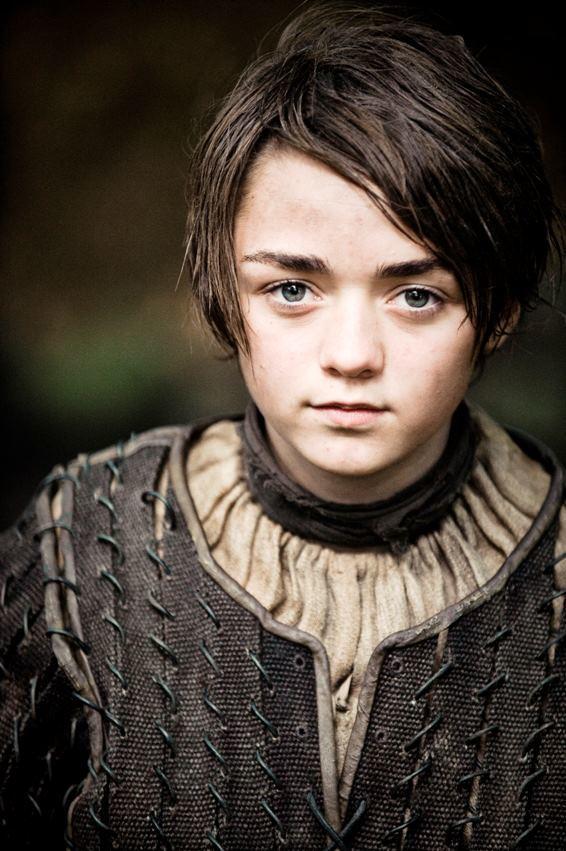 Maisie Williams as Arya Stark Photo