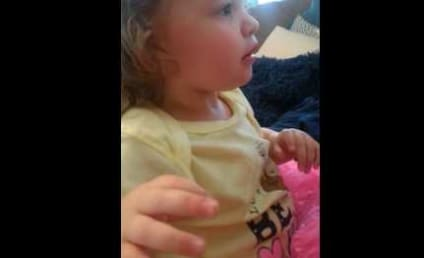 Father Shaves, Scares Heck Out of Daugher in Game of Peekaboo