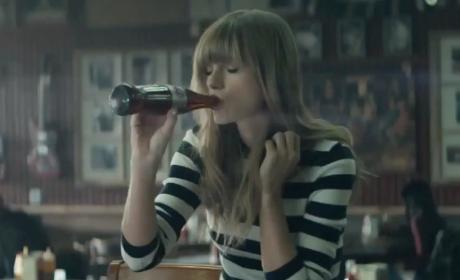 Taylor Swift Diet Coke Commercial