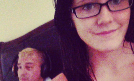 Jenelle and Nathan Selfie