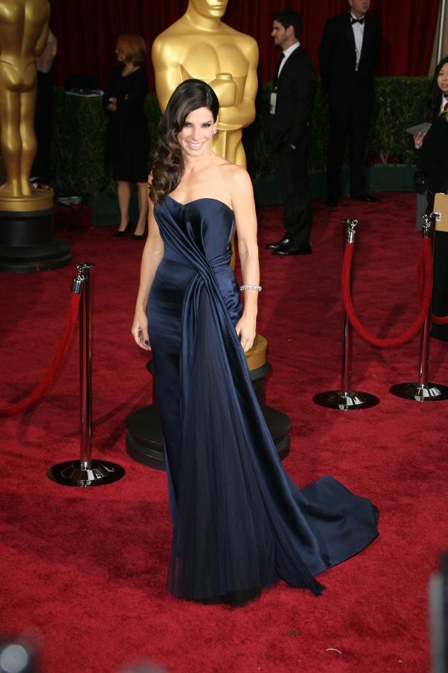 Sandra Bullock at the Academy Awards