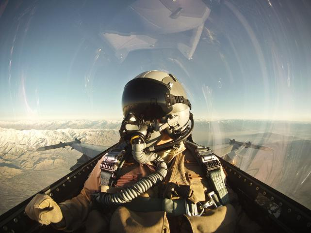 Fighter Pilot Selfie