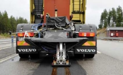 Electric Road That Charges Cars: Tested By Volvo