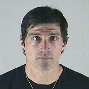 Matthew Fox Mug Shot