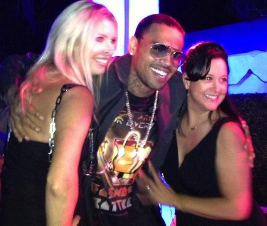 Chris Brown, Groupies