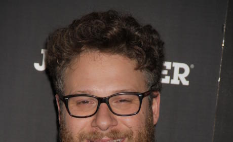 Seth Rogen at Movie Premiere