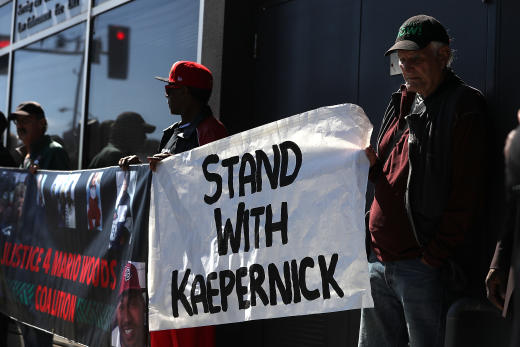 Colin Kaepernick Supporters