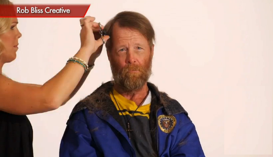rob blisss video homeless veteran time lapse Viral video: amazing timelapse transformation of a homeless vet courtesy: degage ministries, rob bliss us army veteran jim wolf has struggled with alcoholism, poverty, and homelessness for decades.