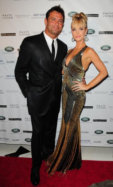 Joanna Krupa and Romain Zago Photo