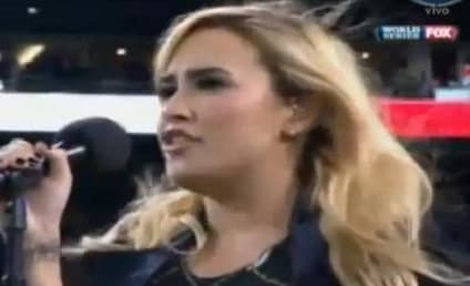 Demi Lovato National Anthem Performance: Grade It!
