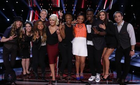 Voice Top 10 Singers