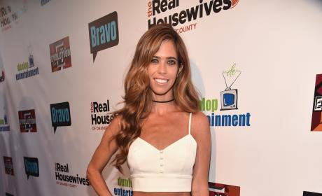 Lydia McLaughlin RHOC 10 Year Celebration Pic
