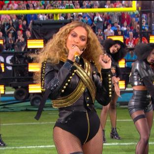 Beyonce at Halftime