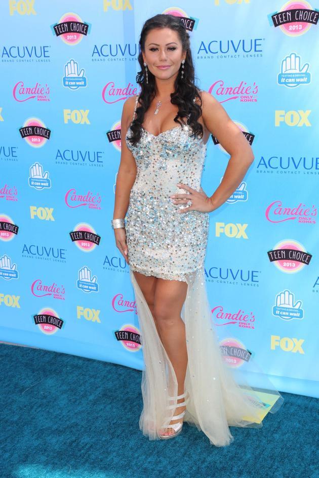 JWOWW at Teen Choice Awards