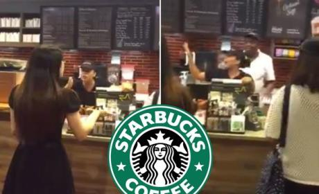 Starbucks Barista GOES OFF on Patron: Watch the Meltdown!