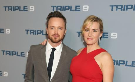 Aaron Paul and Kate Winslet: 'Triple 9' Special Screening