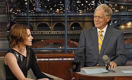 Kristen Stewart on The Late Show: Awkward Alert!!!