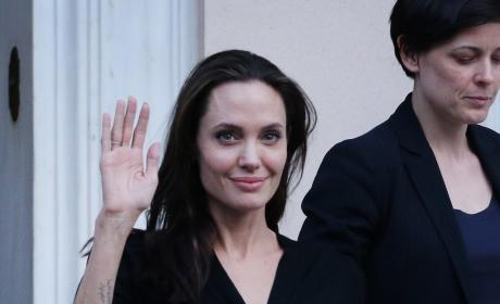 Angelina Jolie: Actress' Weight Has Dropped to 80 Pounds, Tabloid Claims
