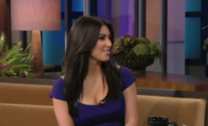 Jay Leno Asks Kim Kardashian: Is That Real?