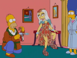 Lady Gaga on The Simpsons