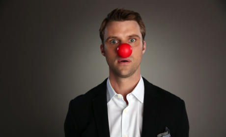 Jesse Spencer Red Nose Photo