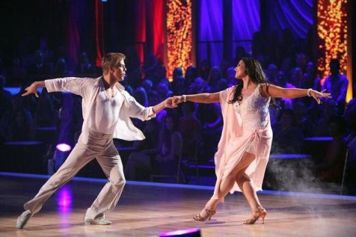 Ricki Lake, Derek Hough Pic