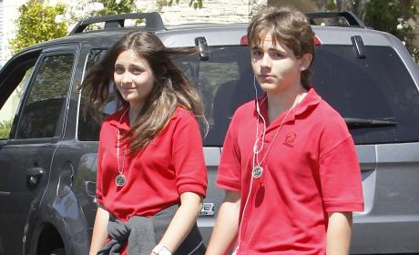 Paris and Prince Michael Jackson
