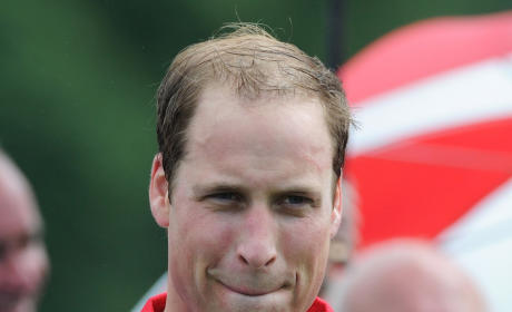Prince William Hair Line