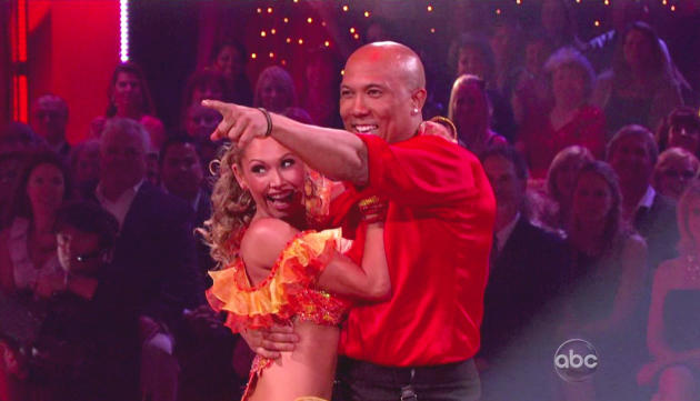 Hines Ward, Kym Johnson Picture