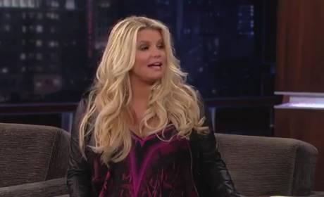 Jessica Simpson on Jimmy Kimmel Live (Part I)