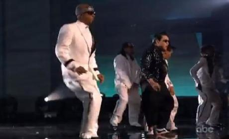 PSY and MC Hammer Go Gangnam Style at American Music Awards: Watch Now!