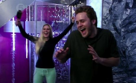 Spencer Pratt and Heidi Montag on CBB