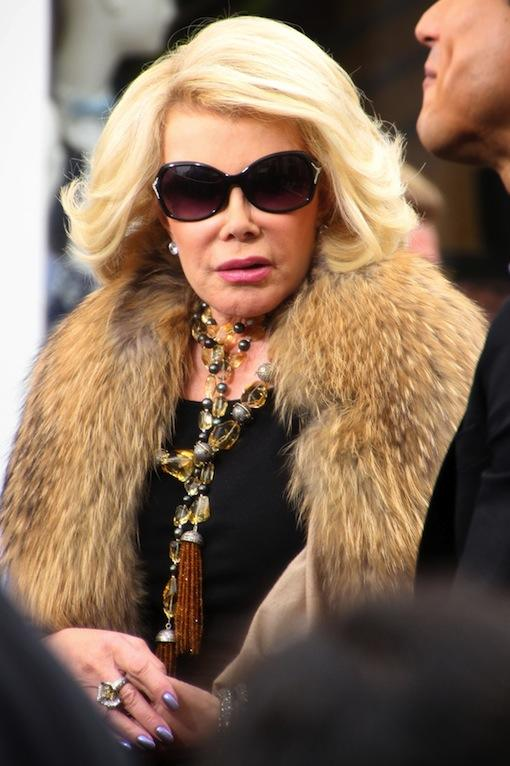 Joan Rivers in Fur