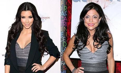 Who wears this dress better: Kim Kardashian or Bethenny Frankel?
