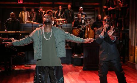 Kanye on Jimmy Fallon