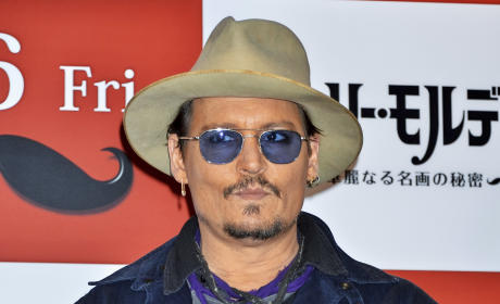 Johnny Depp Facing TEN YEARS in Prison For Dog Smuggling?!