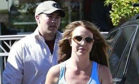 David Lucado, Britney Spears Photo
