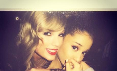 Taylor Swift and Ariana Grande