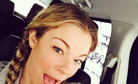 LeAnn Rimes Carwash Photo